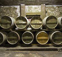 cognac barrels by Carine LUTT