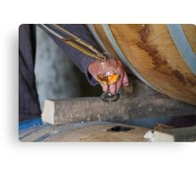 cognac tasting Canvas Print