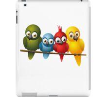 Cute overload - Birds iPad Case/Skin