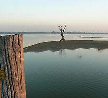From the Teak bridge, Myanmar 2012 by Intrepidjoan