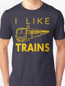I like trains T-Shirt