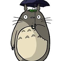 totoro stand in Rain by EvanMabe