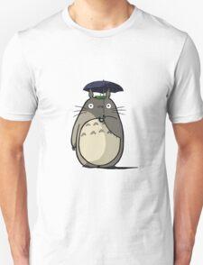 totoro stand in Rain T-Shirt