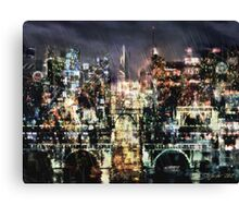 Night-Scape Canvas Print