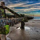 Sheringham Beach Landscape by Mark Bunning