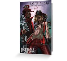 Rockstars of the Dreamtime Greeting Card