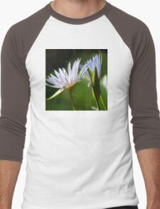 Waterlily Tablet Case Men's Baseball ¾ T-Shirt