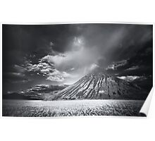 Storm Cell Over Chocolate Mountain Poster