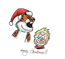 merry cristmas calvin by EvanMabe