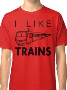 I like trains Classic T-Shirt