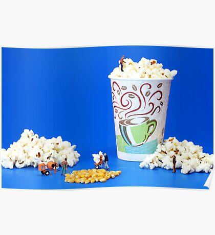 Making popcorn Poster