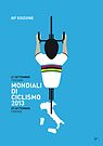MY Mondiali di Ciclismo MINIMAL POSTER - 2013 by Chungkong