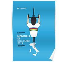 MY Mondiali di Ciclismo MINIMAL POSTER - 2013 Poster