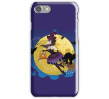 Witch and Full Moon 5 iPhone Case/Skin