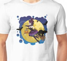 Witch and Full Moon 5 Unisex T-Shirt