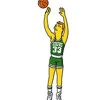 Larry Bird by EvanMabe