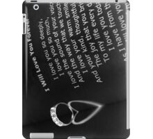 Love you forever iPad Case/Skin