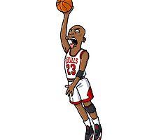 Michael Jordan by EvanMabe