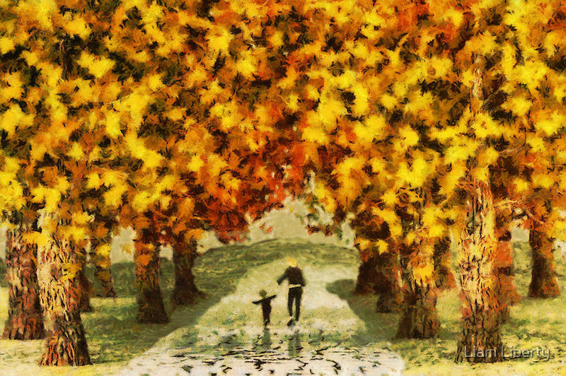 Autumn Trees by Liam Liberty