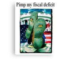 Pimp my fiscal defecit Canvas Print
