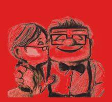 Carl and Ellie Fredricksen love forever Kids Clothes