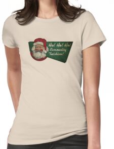 Ho! Ho! Ho! Commodity Fetishism! Womens Fitted T-Shirt