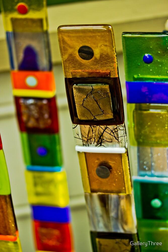 Glass Sticks by GalleryThree