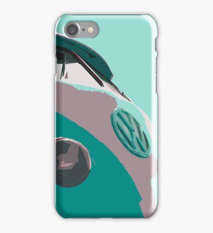 Aqua VW Split iPhone Case iPhone Case/Skin