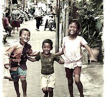 Joy in the streets by Michelle Clarke