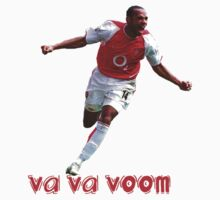 Thierry Henry Va Va Voom Arsenal by Thierry Henry14.net