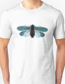 Blue Moth Unisex T-Shirt