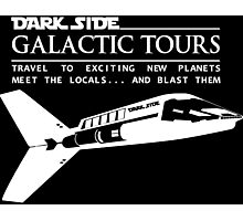 Dark Side Galactic Tours Photographic Print