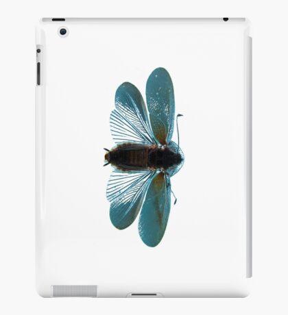 Blue Moth iPad Case/Skin