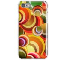 Wallpaper - retro circle background iPhone Case/Skin