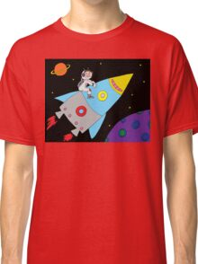 Rocket to Outer Space Classic T-Shirt
