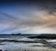 Misty Medway Morning by Nigel Jones