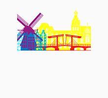 Amsterdam skyline pop Unisex T-Shirt