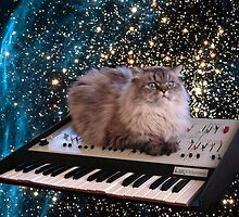 Cat in space 6 by artkid