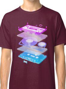 Cassette Explosion - Tape Music Classic T-Shirt