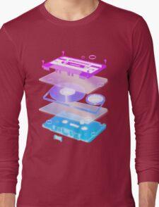Cassette Explosion - Tape Music Long Sleeve T-Shirt