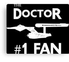 The Doctor #1 Fan Canvas Print