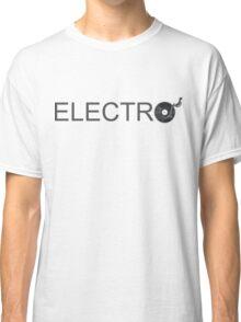Electro Vinyl - Music Turntable Classic T-Shirt