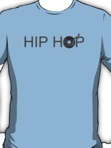 Hip Hop Vinyl - DJ Music Deck T-Shirt
