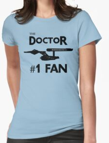 The Doctor #1 Fan Womens Fitted T-Shirt
