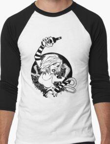 Punk Girl Men's Baseball ¾ T-Shirt