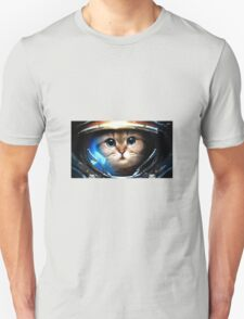 Cat in space 7 T-Shirt