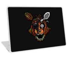 Adventure Phantom Foxy - FNAF World - Pixel Art Laptop Skin