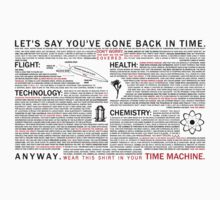 Shirt for time travel by Darth-Biomech