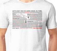 Shirt for time travel Unisex T-Shirt