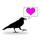 Caw, love! by Zise